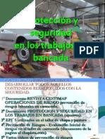 Protección y seguridad en los trabajosenbancada.ppt