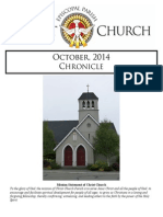 Christ church Eureka October Chronicle 2014