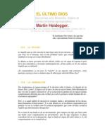 Heidegger, Martin - El ultimo dios (Aportes a la filosofia, seccion VII).pdf