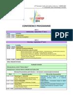Final Programme CORTEP