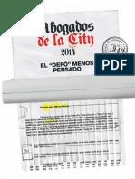 Abogados de la City - Revista APERTURA