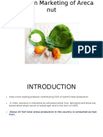 Report on Marketing of Arecanut