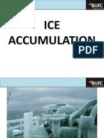 Ice Accumulation 2012