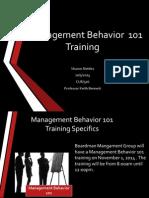 1nettlesmanagement behavior  101