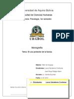 El uso protector de la fuerza - monografia.doc