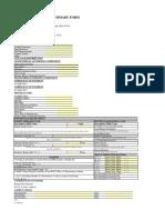 Bridge Load Rating Summary Form