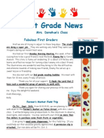 sept  12 2014 newsletter 1st grade