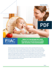 Frac Brief Revised WIC Food Package Impact on  Nutrition