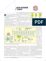 Automatic Low-power Emergency Light