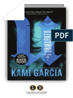 Unmarked by Kami Garcia [Excerpt]
