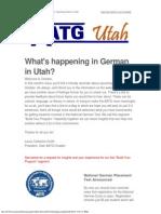 utah aatg updates october 2014
