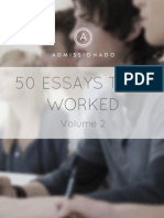 50EssaysThatWorked Second Edition