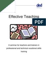 Effective Teaching Handout