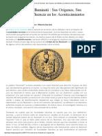 La Orden de los Illuminati Sus Orígenes Sus Métodos y Su Influencia en los Acontecimientos Mundiales.pdf