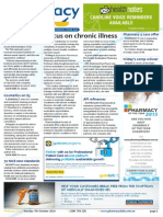 Pharmacy Daily for Tue 07 Oct 2014 - Focus on chronic illness, Mobile heart care for Qld, EMA landmark policy, Guild Update and much more