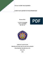 Definisi Audit Produksi