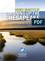 Economic Benefits of Cleaning Up the Chesapeake