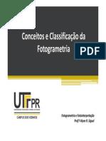 1-Conceitos e Classificação da Fotogrametria.pdf