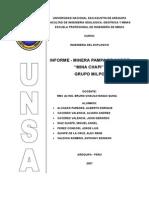 INFORME-UNIDAD MINERA PAMPA DE COBRE.doc