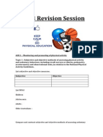 unit 3 revision for holiday session - student version
