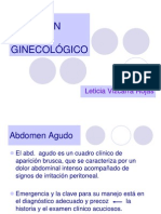 Abdomen agudo ginecologico - Dra Vizcarra.ppt