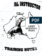 Survival Instructor Handbook
