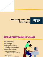 Training & Developmental Approaches