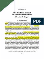 The Bradford Method for Protein Quantitation.  Nicholas Kruger.pdf