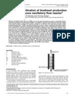 Biodiesel in a COFR