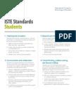 itse student standards 6