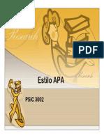 19. Estilo APA - PSIC 3002 - LitArt.pdf