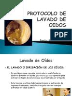 2° PROTOCOLO  DE LAVADO DE OIDOS.ppt