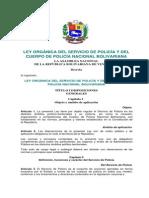 09. Ley Orgánica del Servicio de Policía y del Cuerpo de Policía Nacional Bolivariana.pdf
