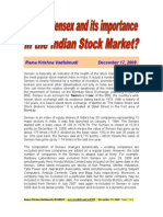 What is Sensex and Its Importance in the Indian Stock Market-VRK100-17122009