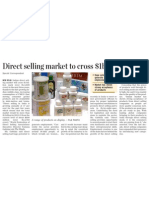 Direct Selling Market to Cross $1b in 3 Years