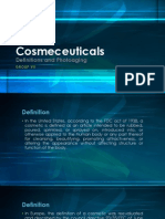 Cosmeceutical - Definition and Photoaging