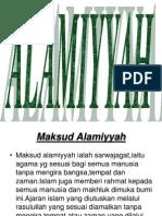 alamiyyah.ppt