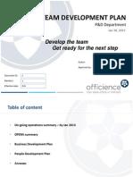 Team Development Plan-1