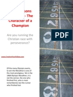 Bible Lessons for Youth - The Character of a Champion