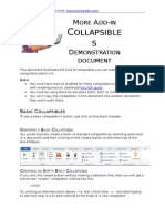 More Add in Collapsibles Demo