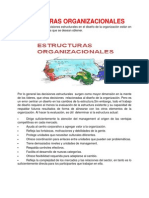 estructestructuras organizacionalesuras organizacionales