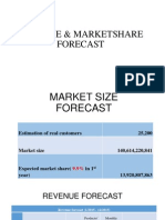 [MarQT]_REVENUE & MARKETSHARE FORECAST.pptx