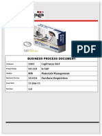 Purchase Requisition in Sap the Process Manual