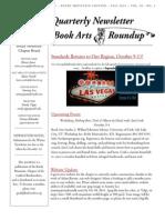 2014 Vol 3 Fall Book Arts Roundup