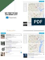 HCMC Itinerary
