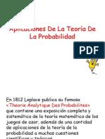 Aplicaciones De La Teoría De probabilidad.pptx
