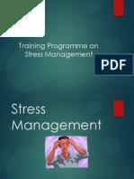 Stress Management- training programme
