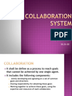 collaboration system report