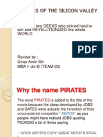Pirates of the Silicon Valley Management Lessons