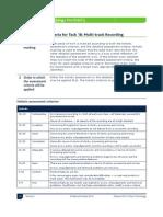 Task 1B Assessment Criteria